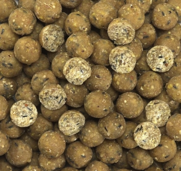 Elite Range Boilies, Peanut Cracker - 20mm, birdy-nut