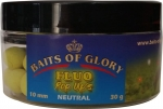 Baits of Glory - FLUO POP UPS, GELB - NEUTRAL, 30G, 10MM