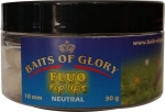 Baits of Glory - FLUO POP UPS, WEISS - NEUTRAL, 30G, 10MM